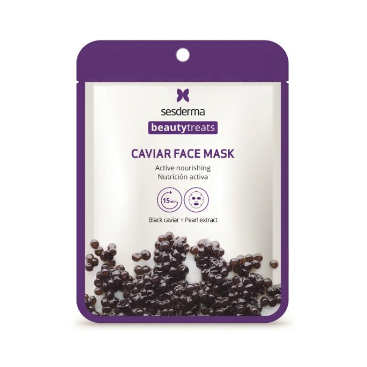 BEAUTYTREATS Black caviar face mask – Маска питательная для лица, 22 мл