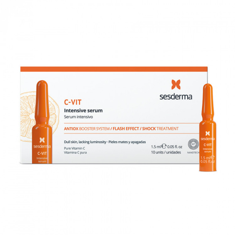 C-VIT Intensive serum – Сыворотка интенсивная 12%, 10 шт по 1,5 мл