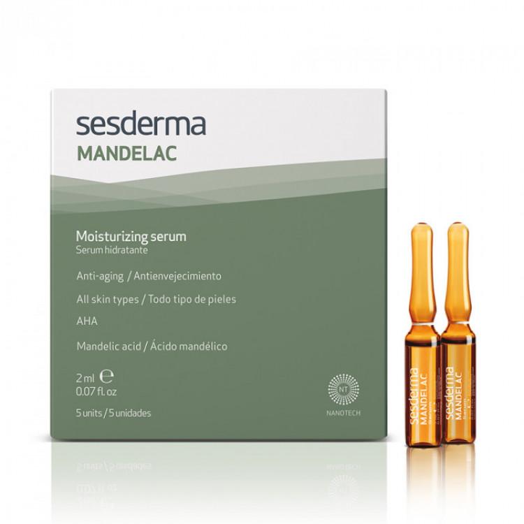 MANDELAC Moisturizing serum – Сыворотка увлажняющая, 5 шт. по 2 мл