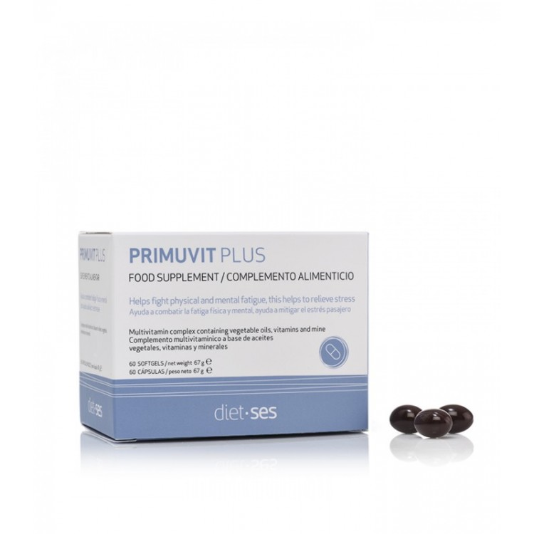 "PRIMUVIT PLUS Food supplement – БАД к пище ""Примувит Плюс"" (""Primuvit Plus""), 60 капс."