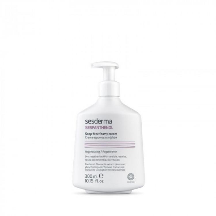 SESPANTHENOL Soap-free foamy cream – Крем-пенка для умывания восстанавливающая, 300 мл