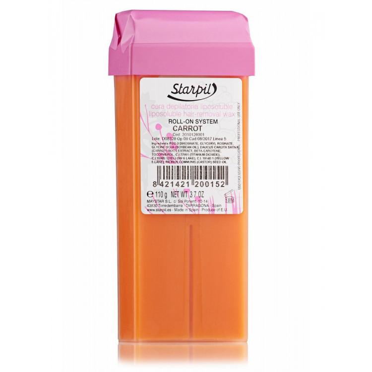 Hair removal wax 110 g - Воск Морковный Кремовый