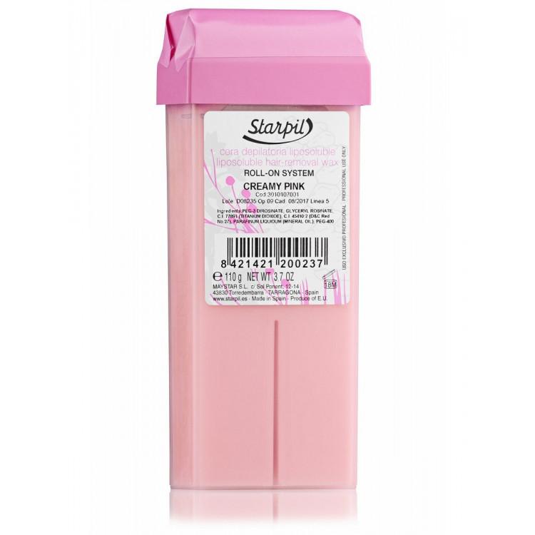 Hair removal wax 110 g - Воск Сливочно-розовый Ультракремовый