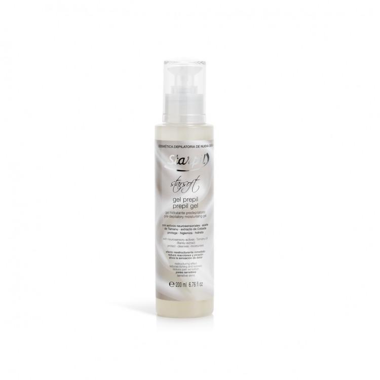 Star Soft Pre-depilatory moisturising gel 200 ml Пудровый гель перед депиляцией