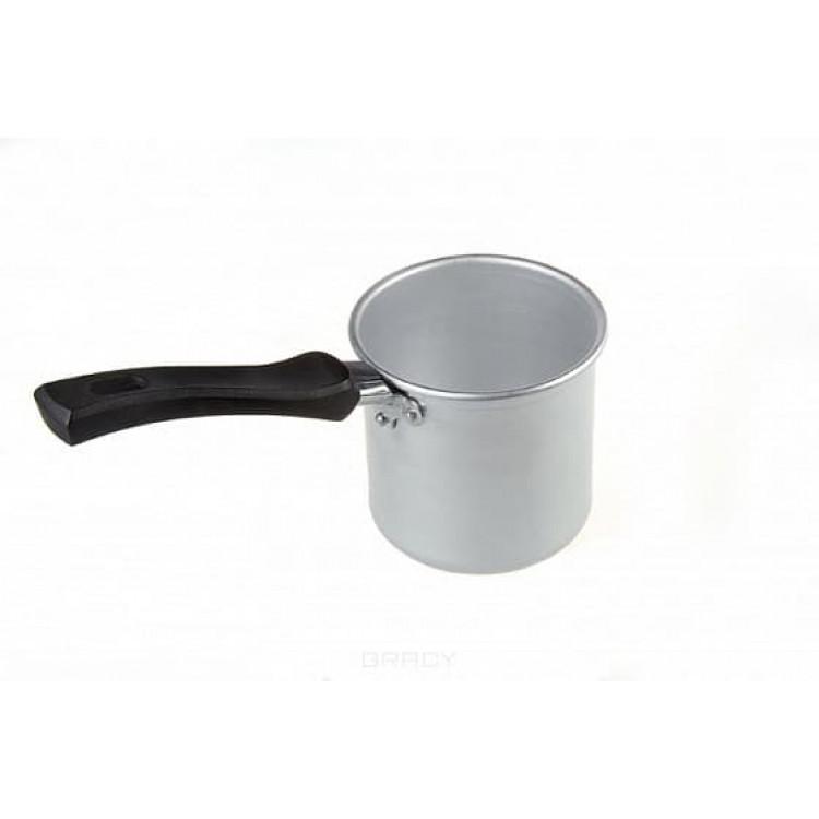 Aluminum bucket with handle 600 ml - Ковшик алюминиевый с ручкой