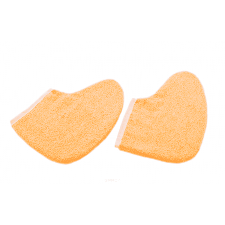 Terry socks for paraffin therapy - Махровые носки для парафинотерапии Персиковые