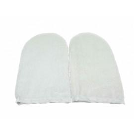 Terry insulation - Махровые утеплители для рук Белые