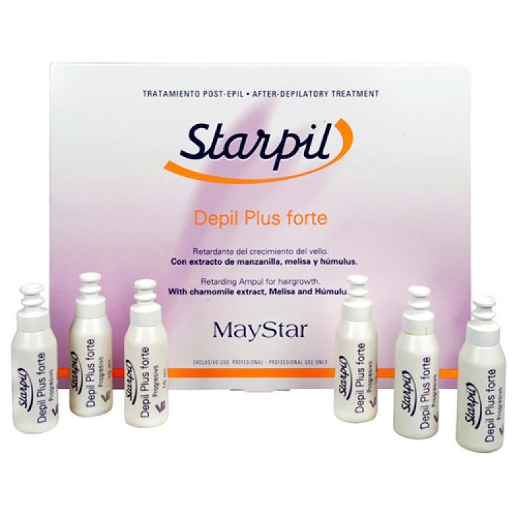Depil plus forte 10x10 ml - Лосьон замедляющий рост волос после депиляции в ампулах